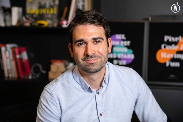 Rencontrez Antoine, Directeur Product Design - Clint