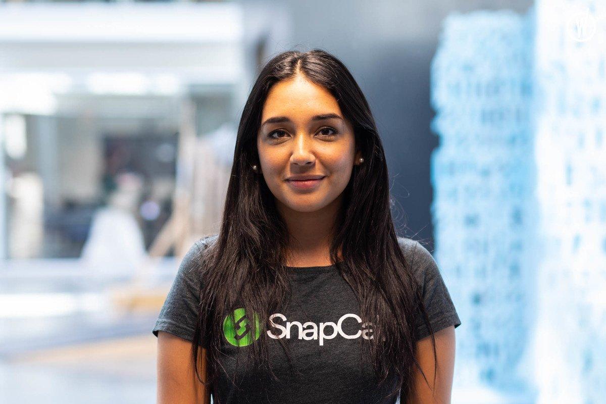 Meet Natalia, Growth marketing - SnapCall
