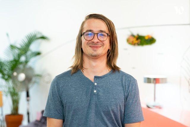 Rencontrez Guillaume, Full Stack Developer - Comet