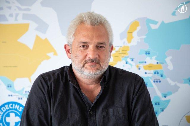 Rencontrez Joël, Directeur général - Médecins Du Monde