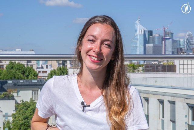 Rencontrez Camille, Account Executive - GroupM