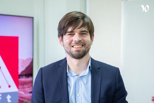 Rencontrez Brice , CEO - ISoft