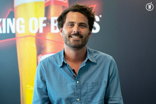 Meet Christophe, Senior Brand Manager Bud - AB InBev Europe