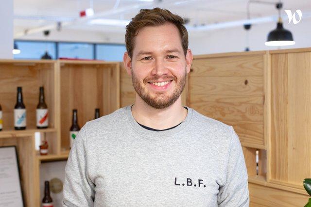 Rencontrez Geoffrey, Responsable de la brasserie - LBF - La Brasserie Fondamentale