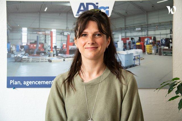 Rencontrez Agathe , Chef de Projets - AD Lille - ADICI