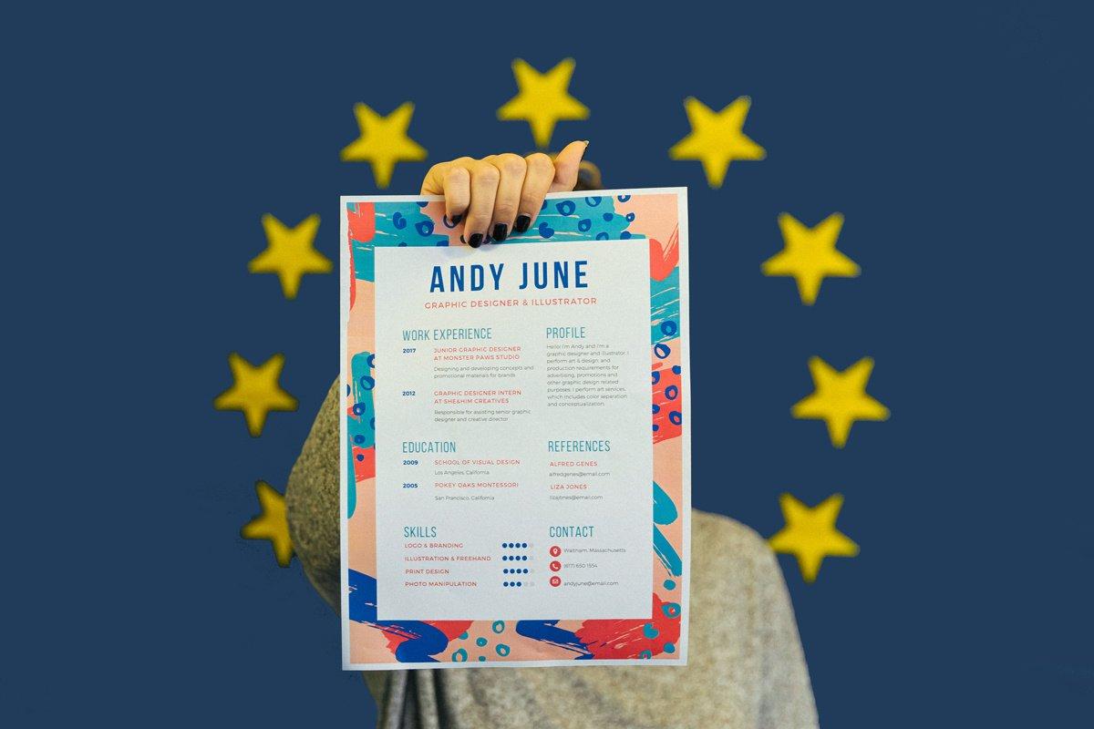 Europass tout sur le CV aux standards européens