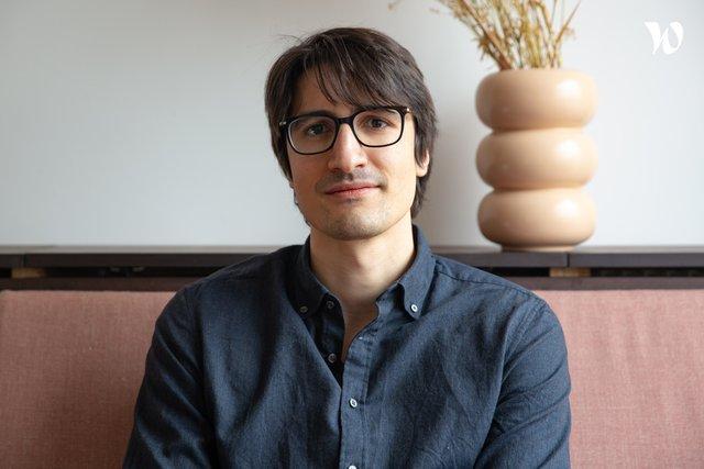 Rencontrez Joël, Product Designer - COZY CLOUD