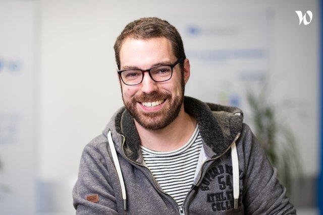 Rencontrez Vincent, Lead Dev - Report One