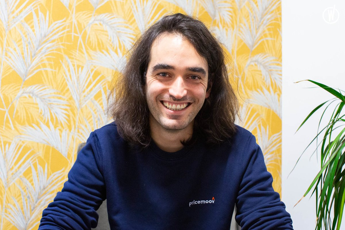 Rencontrez Maxime, Full Stack Developer - Pricemoov