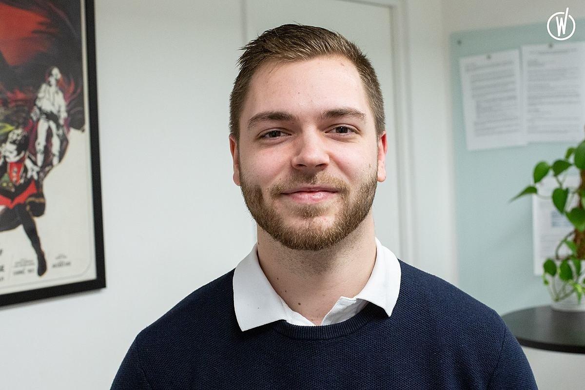 Rencontrez Romain, Développeur web - Carvivo