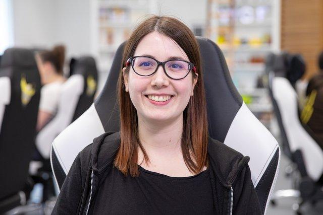 Rencontrez Fanny Pourtier, Software Engineer Junior - World Gaming Federation