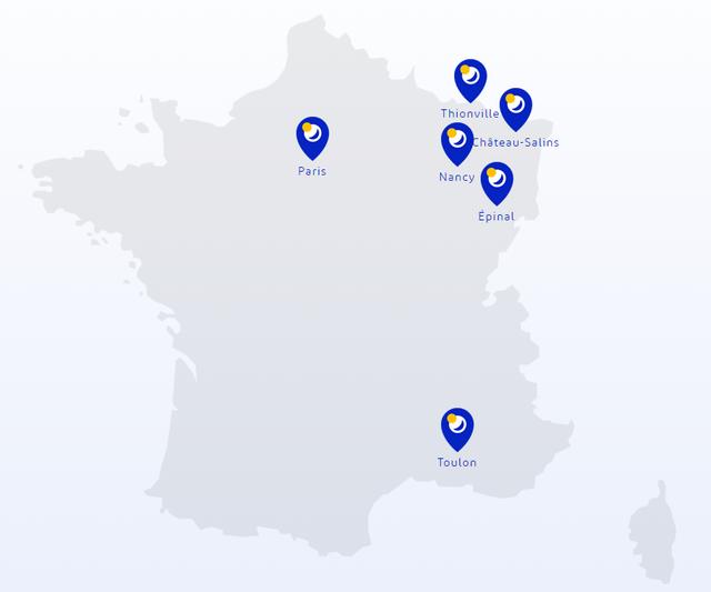 Nos centres en France  - BioSerenity