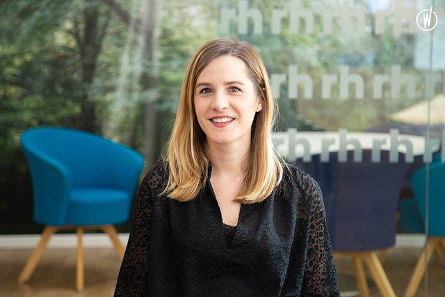 Rencontrez Aurélie, Division Manager - Finance Comptabilité - Robert Half France