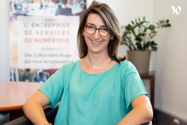 Rencontrez Céline, Développeur PHP - Genesis Groupe