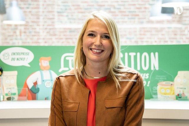 Rencontrez Camille, Responsable communication & associée - BioDemain