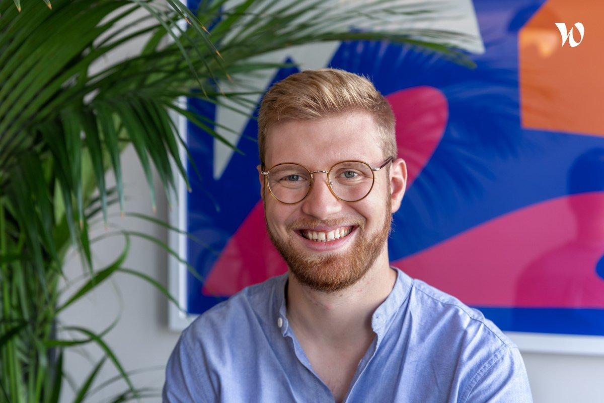 Rencontrez Thibault, Data Scientist - finfrog