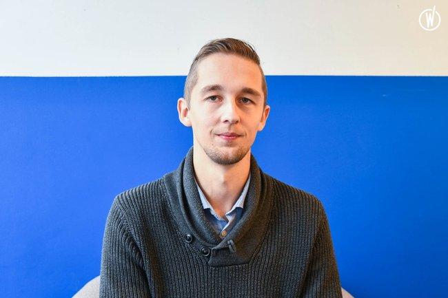 Rencontrez Dorian, Ingénieur Etude et Développement - Document Store