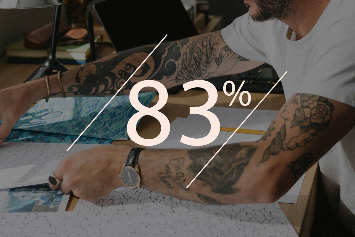 83% des Français voient le tatouage comme un frein professionnel