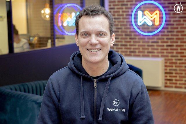 Rencontrez Benoit, CEO & Co-Fondateur - WeMaintain