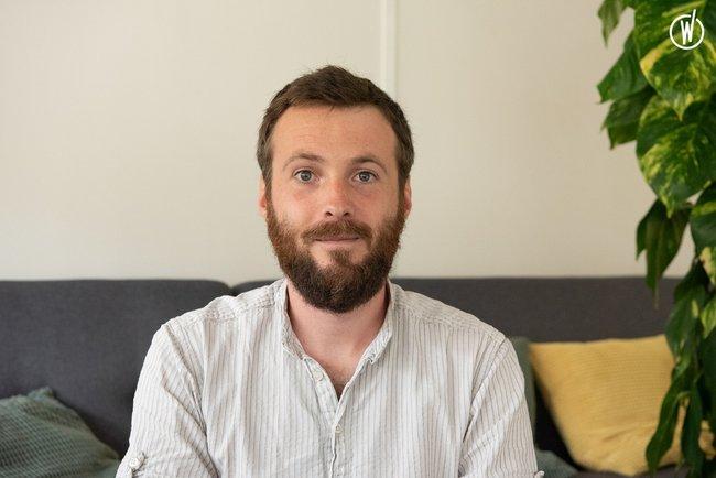 Rencontrez Adrien, Responsable des études - Madeinvote
