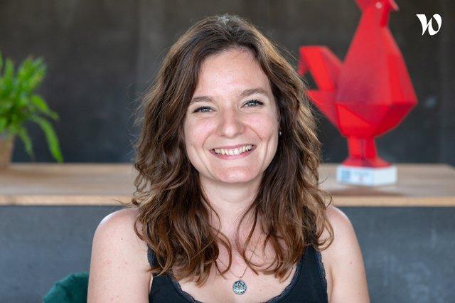 Rencontrez Julie Co fondatrice CEO - Ombrea