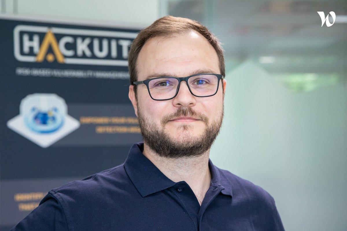 Rencontrez Wilfrid Blanc, Product Owner - HACKUITY