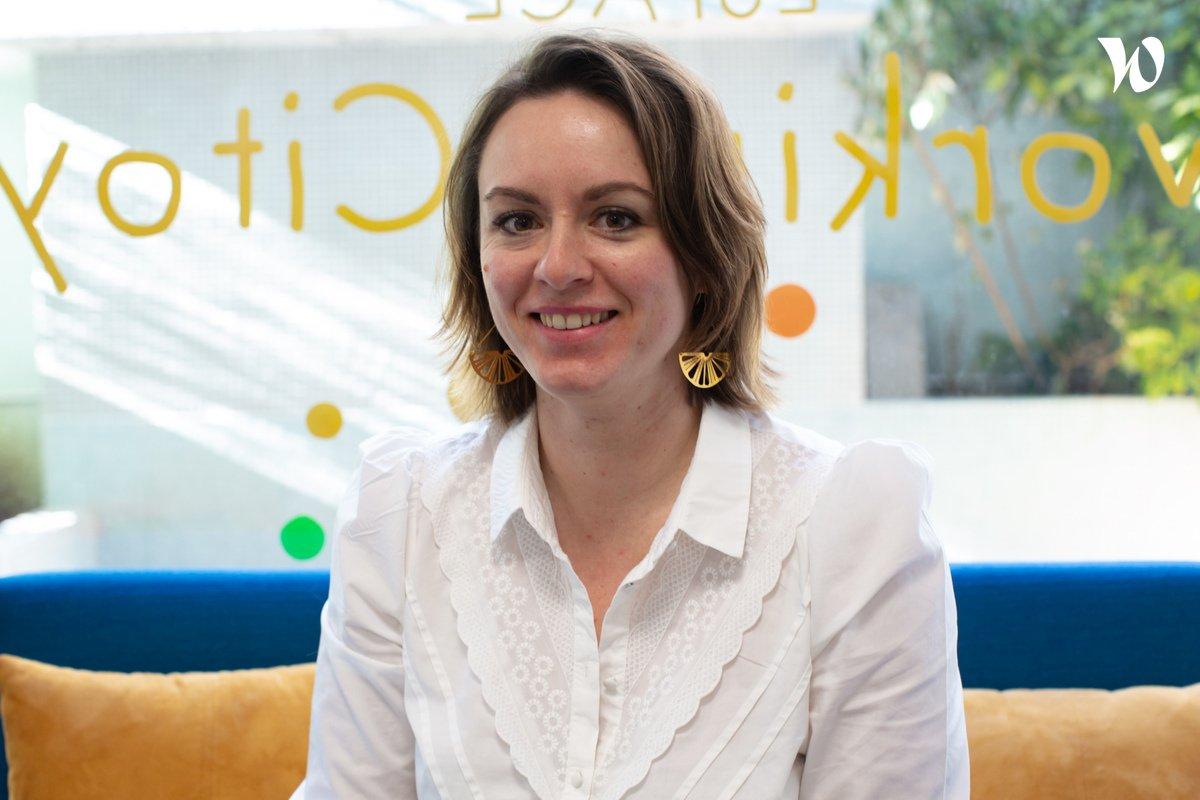 Rencontrez Amandine, Déléguée Générale - Jeune Chambre Économique Française
