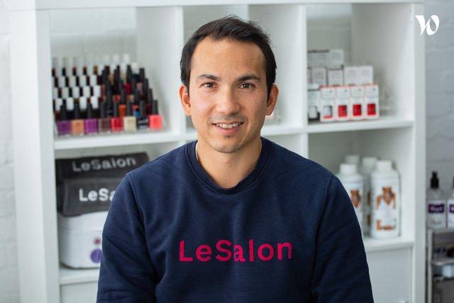 Rencontrez Jean-Michel, CEO & Co-founder - LeSalon