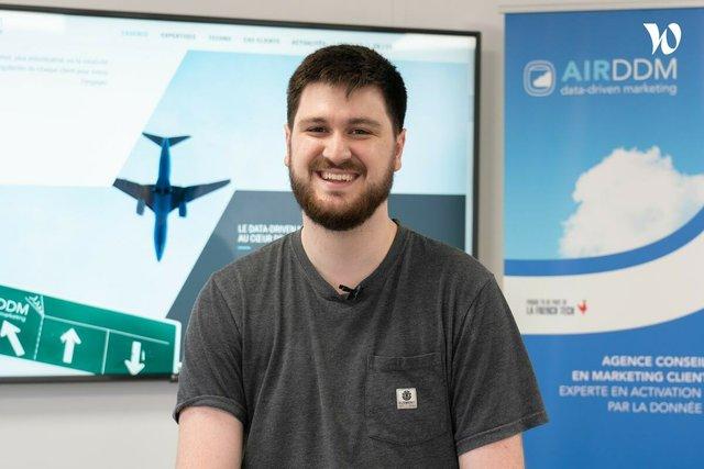 Rencontrez Thibaud, Développeur back-end - AIR DDM