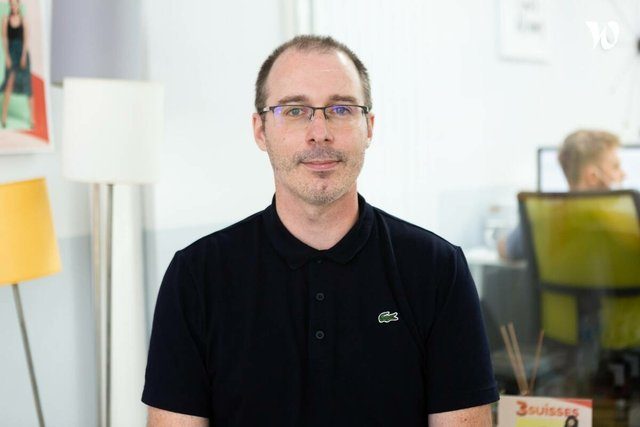Rencontrez Adrien, Directeur IT - 3 SUISSES