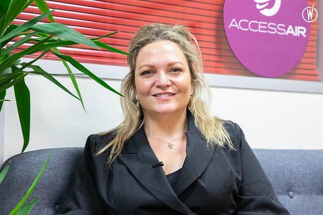 Rencontrez Emma, Founder - Accessair