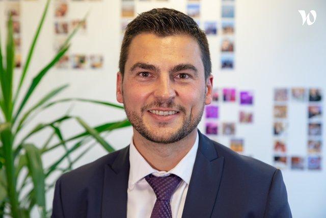 Rencontrez Benjamin, Consultant Staffing Senior - HITECHPROS