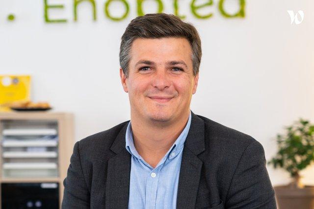 Rencontrez Gildas, CEO - Enoptea