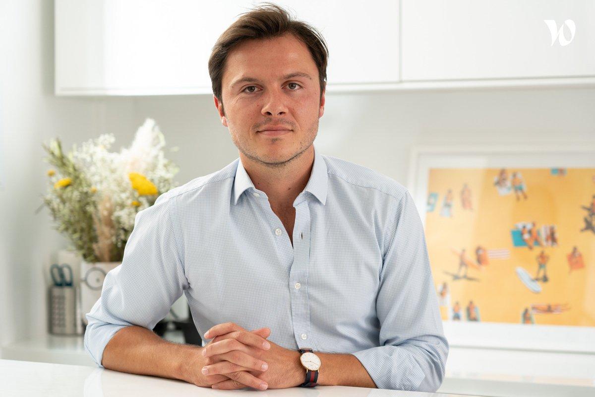 Rencontrez Maxime, CEO - Reecall