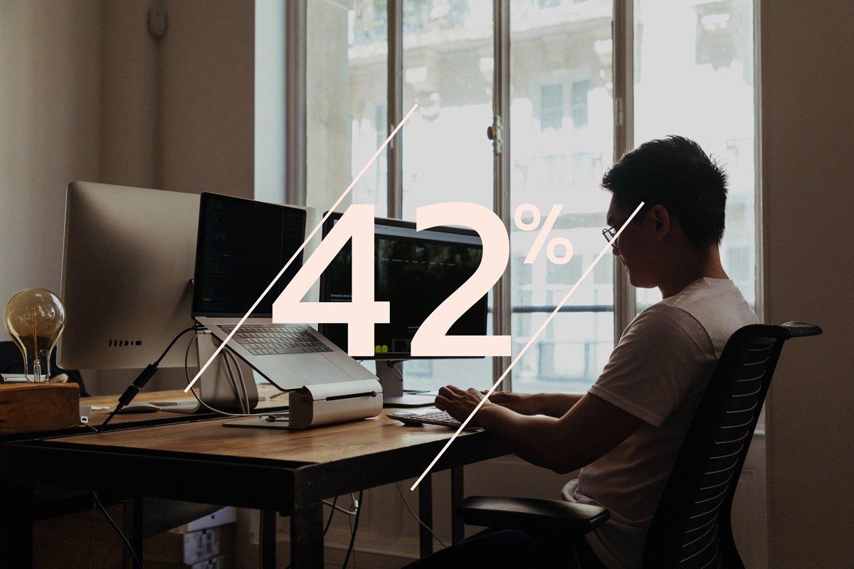 42% des pro du digital envisagent de quitter le monde du web