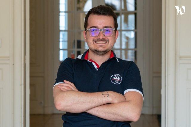 Rencontrez Antoine, Responsable Développeur Front - Letsignit