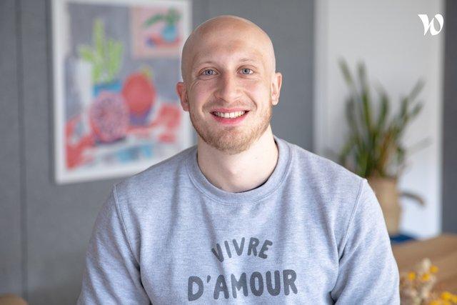 Rencontrez Nathan, Talent Acquisition Specialist Tech - Ornikar