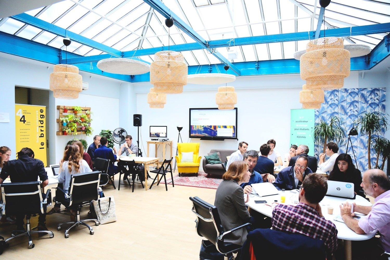 Les bureaux de Schoolab : un Innovation Studio bouillonnant