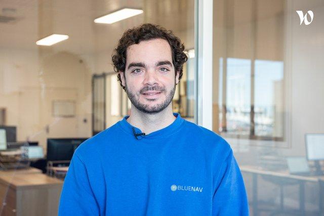 Rencontrez Thomas, Co-fondateur et responsable commercial - BLUENAV
