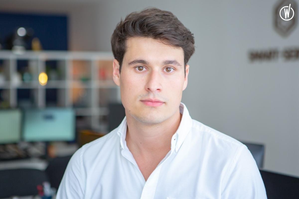 Rencontrez Stephen, Cofondateur & CFO - Smart-Services