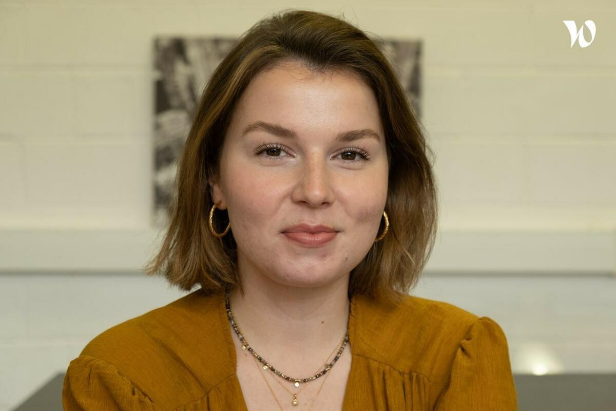 Rencontrez Marie, Chef de projet - Digital Prod
