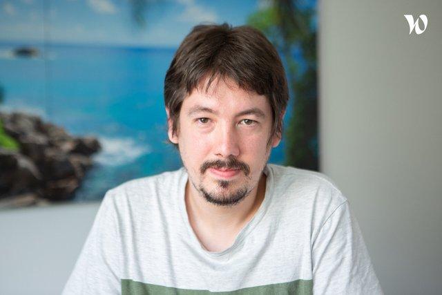 Rencontrez Jérôme, Développeur Web - ISI SAS