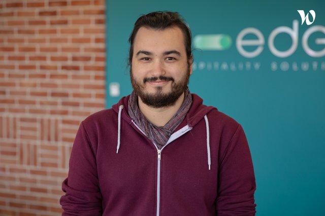 Rencontrez Alois, Software Engineer - D-EDGE Hospitality Solutions