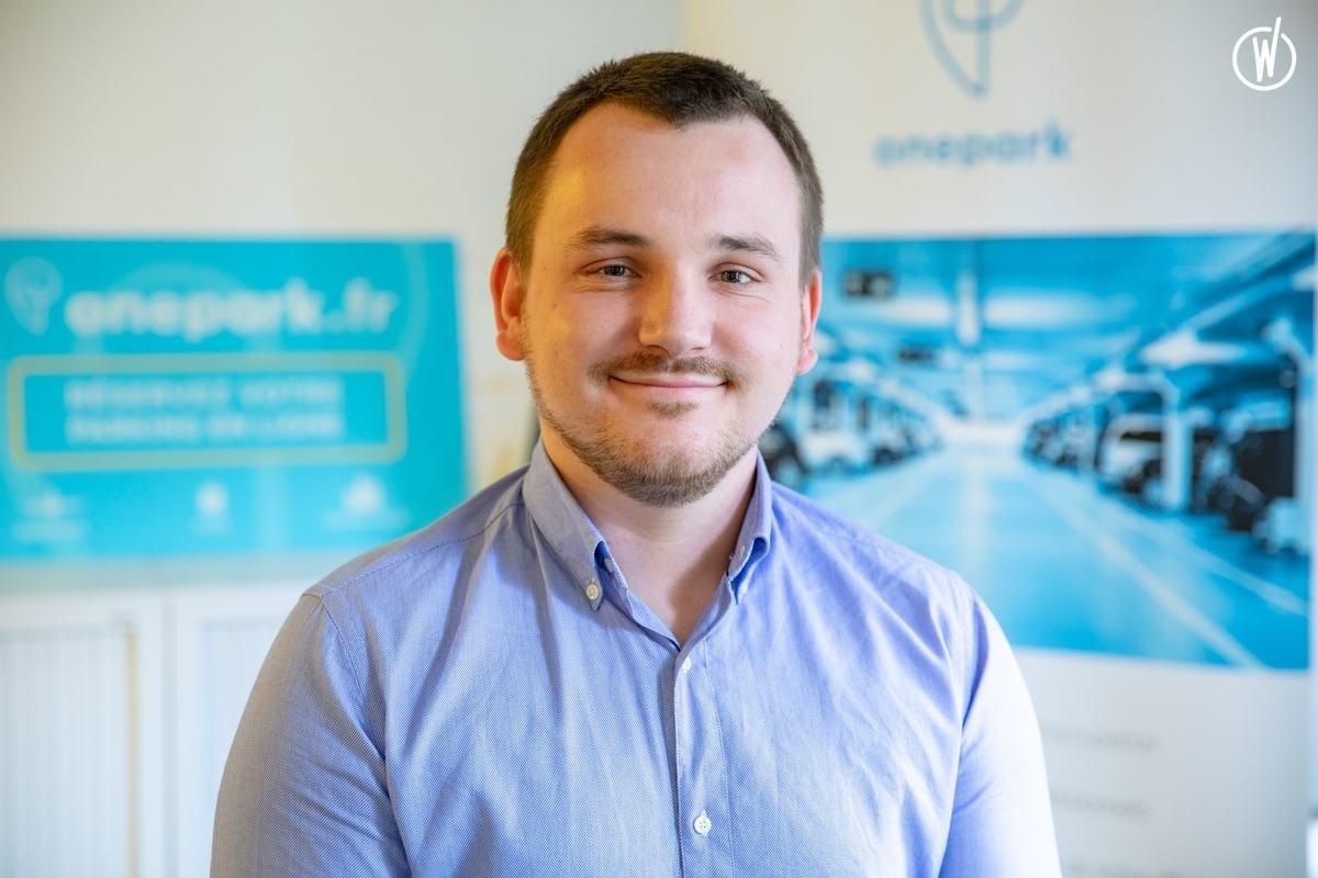 Rencontrez Hugo, Product Owner - Onepark