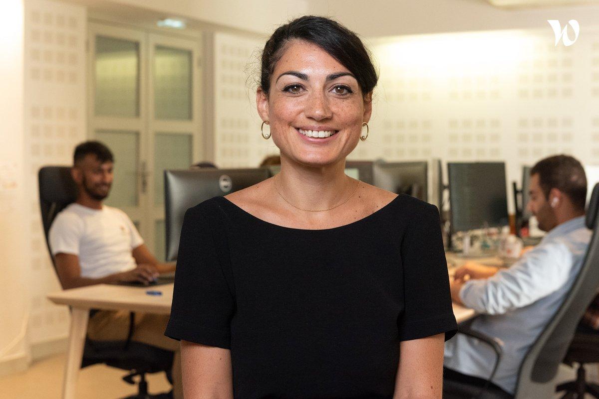 Rencontrez Hadia, Customer Success Manager - Horiz.io