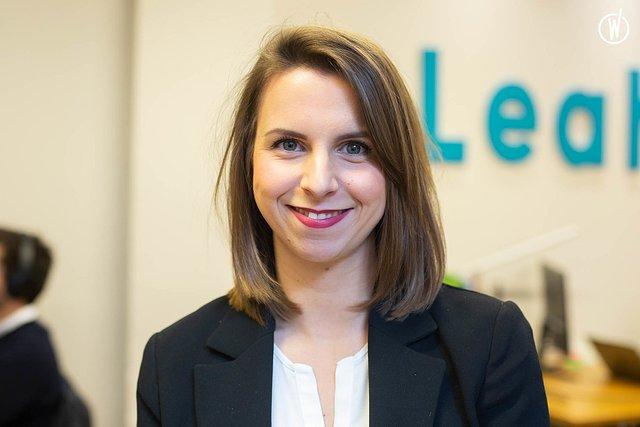 Rencontrez Charlotte, Content Marketing Manager - Leah