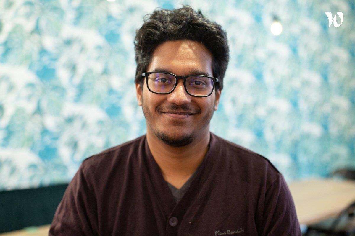 Rencontrez Prem, Développeur Fullstack - Evermaps