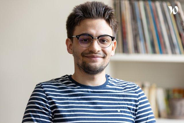 Rencontrez Vincent Ravanel, assistant admissions - O'clock