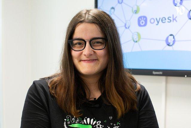 Rencontrez Lucie, Web Marketing - Oyesk