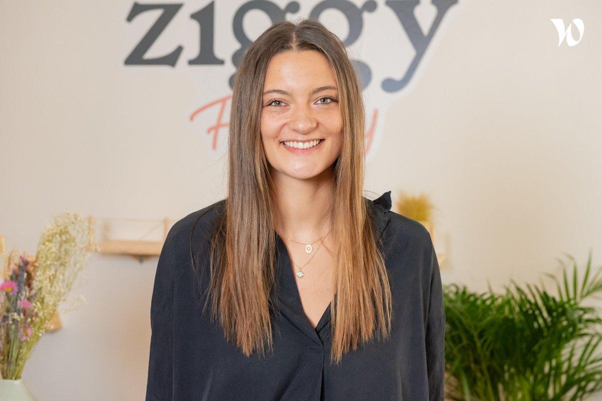 Rencontrez Marie, Cofondatrice  - Ziggy